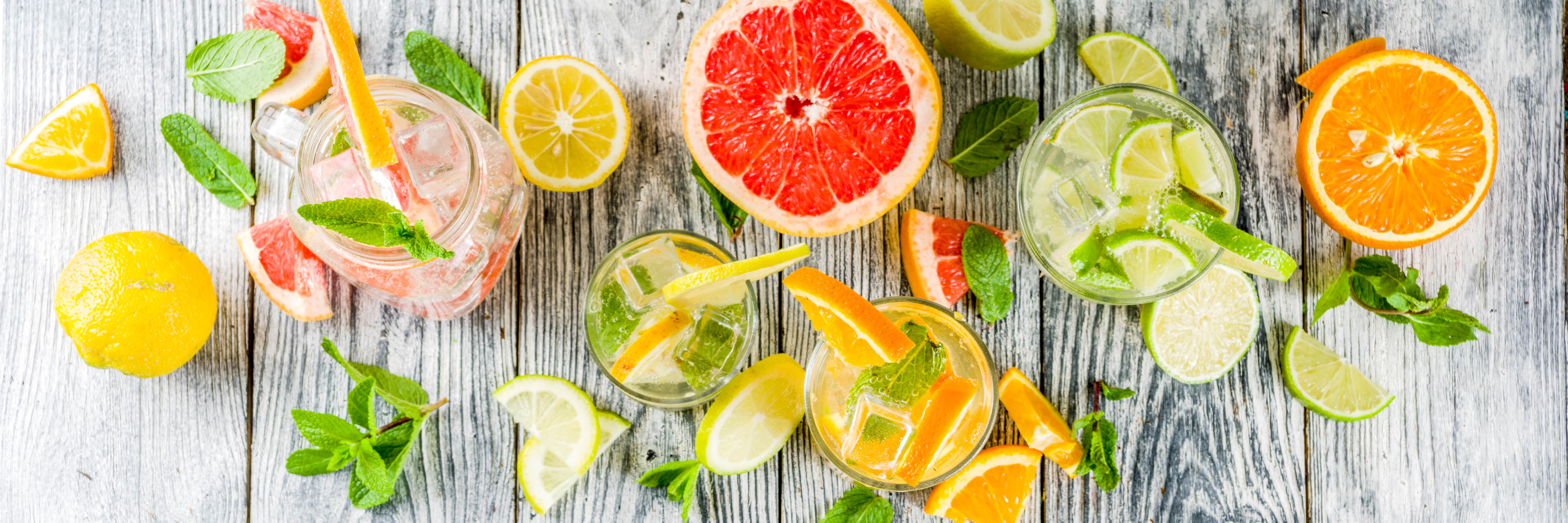 mocktail, verfrissend, fris, zomer, zoet, kids, no alcohol, cocktail, fruit, spar.be