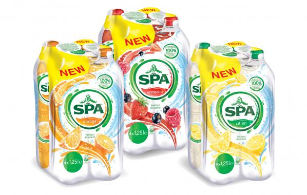 spa, Spa, water, fruitsmaak, healthy, powerdrink, bruiswater, spar.be