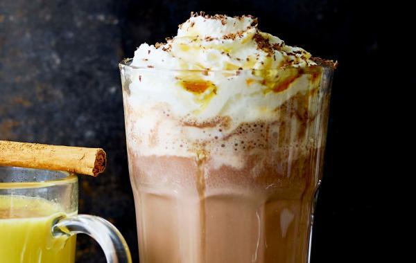 Chocolade, chocolademelk, chocomel, slagroom, chocolate, winter, herfst, spar.be
