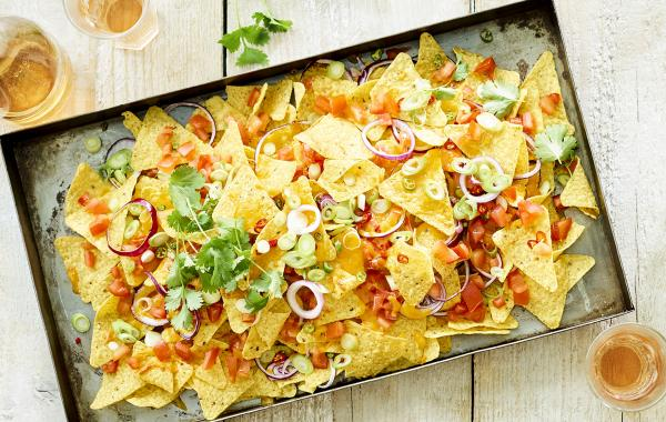nachos, tortillas, mexicain, tortillas, fromage fondu, spar.be