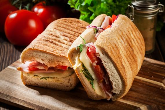 Panini, Lunch, Broodje, Zomers, spar.be