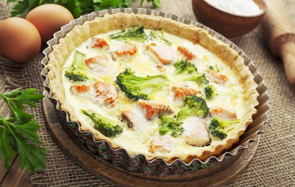 Quiche met zalm en broccoli, Quiche, zalm, SPAR.be