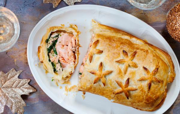 Zalm Wellington met spinazie, Zalm, Wellington, SPAR.be