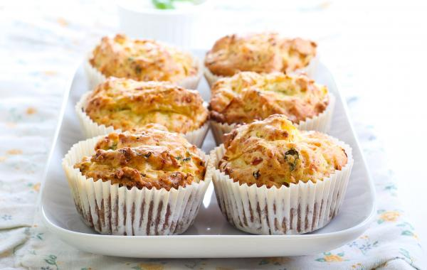 Courgette, Muffins, Healty snack, Powerfood, SPAR.be