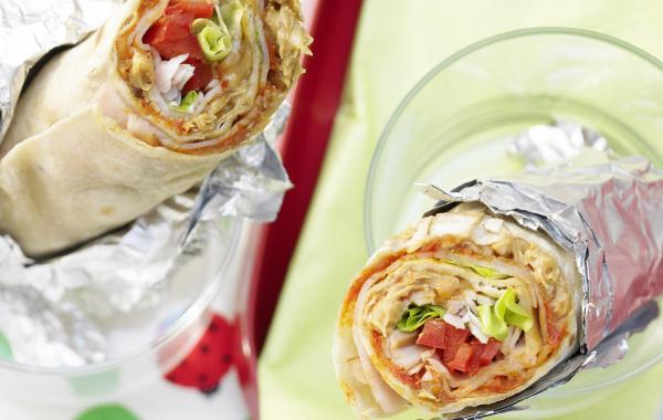 Mexicaanse kalkoenwraps, Kalkoen, Wraps, Mexicaans, Lunch, SPAR.be