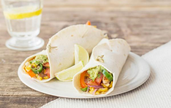 Wrap, guacamole, Zalm, Lunch, Picknick, Powerfood, SPAR.be