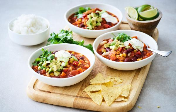 Chili, Mexicaans, Tortilla chips, Bonen, Hartig, SPAR.be