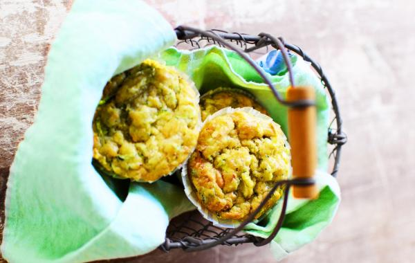 courgette, muffin, powerfood, foodie, healthy, kids, snack, vieruutje, ovengerecht, courgette-muffin, vegetarisch, spar.be